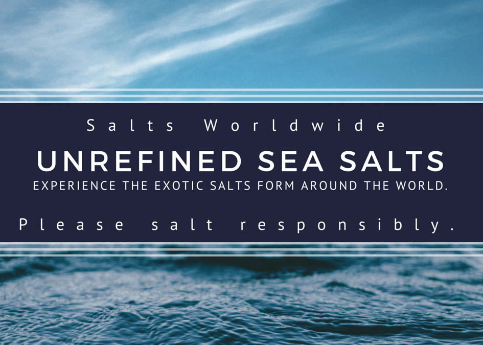 Unrefined Sea Salt and Bath Salts App